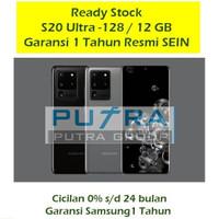Samsung S20 ULTRA 128GB RAM 12 GB Garansi SEIN 1 Tahun - S 20 128 GB