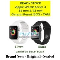 (IBOX) Apple Watch Series 3 GPS 38mm 40mm 38 40 Alum Sport Resmi TAM