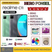 REALME C11 RAM 2/32 GB GARANSI RESMI REALME INDONESIA