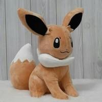 Boneka eevee 18cm/boneka teman pokemon/boneka karakter/boneka pikachu