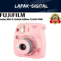 Fujifilm Instax Mini 9 Clear Pink - Limited Edition