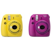Fujifilm Instax Mini 9 Clear Purple / Clear Yellow - Limited Edition