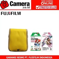 Fujifilm Instax Mini 9 Party Package (Clear Yellow)