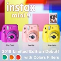 Fujifilm Instax Mini 9 Polaroid (Free 20 Sheets Papper)
