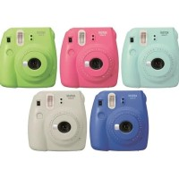 Fujifilm Instax Mini 9 Polaroid (Free 10 Sheets Papper)