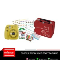 Fujifilm Instax Mini 9 Craft Package Garansi Resmi Fujifilm Indonesia