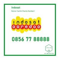 Nomor Cantik Indosat 11 Digit 0856 77 88888 Panca 8 (Nego)