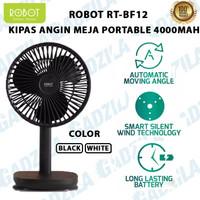 ROBOT RT-BF12 KIPAS ANGIN MEJA PORTABLE 4000MAH TABLE DESKTOP FAN BF12