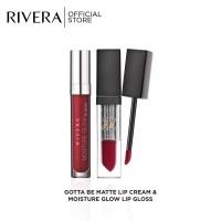 Rivera Gotta Be Matte + Rivera Moisture Glow Lip Gloss