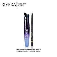 Rivera Volume Madness Mascara + Blue Matic Eyeliner