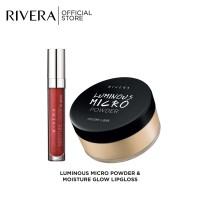 Rivera Micro Powder + Rivera Moisture Glow Lip Gloss