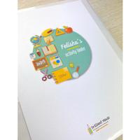 Buku Aktivitas Anak Preschool / mainan edukasi / wipe clean montessori - Activity Binder