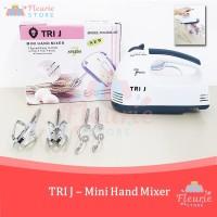 TRI J - Mini Hand Mixer 7 Speed / Mixer Adonan Kue Roti Praktis