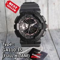 TERLARIS !!! Jam tangan Pria G Shock GA-110 Hitam emas army digital
