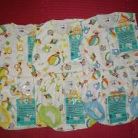 baju bayi stelan kutung libby - balon biru