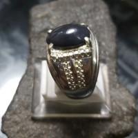 Kalimaya Black Opal Banten - Cincin Batu Akik