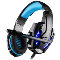 Skytop Kotion G9000 Gaming Headset Twisted with LED Light Headset Head