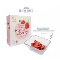 Wel-B Freeze Dried Strawberry Cemilan anak / Buah kering anak