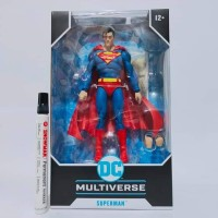 mainan action figure superman by mcfarlane tinggi sekitar 7 inch arti