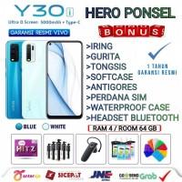 VIVO Y30i RAM 4/64 GB GARANSI RESMI VIVO INDONESIA