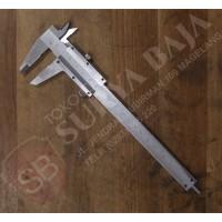 XP Sketmat Jangka Sorong Box Kayu 6 inc 0.05-150mm