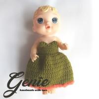 Baju boneka baby alive / jumpsuit long dress