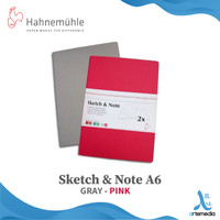 Hahnemuhle A6 Sketch&Note - GREY PINK