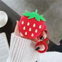 Huawei Freebuds 3 Strawberry Silicone Case Bumper