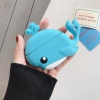 Huawei Freebuds 3 Blue Whale Silicone Case Bumper