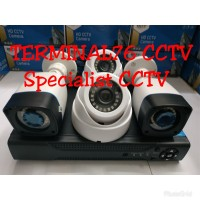PAKET CCTV 3MP 4 CHANNEL FULL HD KOMPLIT TINGGAL PASANG