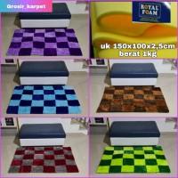 karpet bulu motif uk 150x100x2,5cm