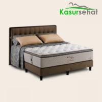 King Koil Kasur Springbed World Endorsed - Full Set -180x200