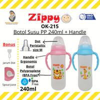 MLB - Zippy OK-215 Botol Susu PP 240ml + Handle