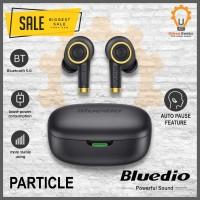 Bluedio Particle TWS Black wireless earphone 5.0 earbud alt Hi