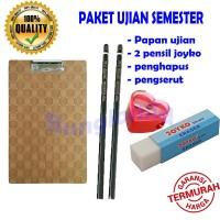 Paket ujian / papan ujian / papan jalan / papan ulangan / pensil