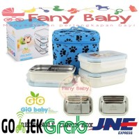 GiG Lunch Box Stainless Steel Rectangular
