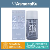 Kissou 212 Men Energy Eau de Parfum - 100 mL