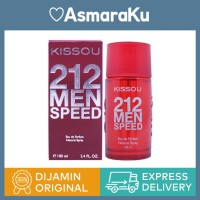 Kissou 212 Men Speed Eau de Parfum - 100 mL