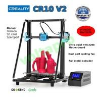 Printer 3D Creality CR10 V2 Fullmetal Struktur Delta Stabilitas Tinggi