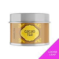 CACAOTEA   Mini Tin   Haveltea   Hojicha Cocoa   Teh Hijau Coklat
