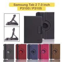 Samsung Galaxy Tab 2 7 inch GT P3100 Flip Cover Case Rotating Casing