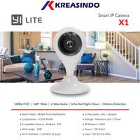Xiaomi Xiaoyi YI Lite X1 Full HD1080P Camera Smart CCTV Resmi