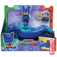 PJ Masks Cat Car Blue Vehicle with Figure Mask Just Play