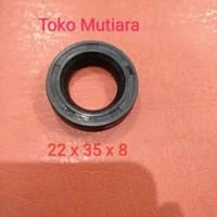 Oil seal piston Plunger Mesin Door smeer power sprayer 20, 22 x 35 x 8