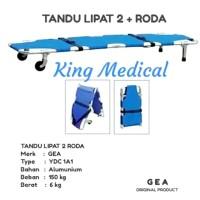 Tandu Lipat + Roda/Castor ( Folding Stretcher ) GEA YDC 1 A1