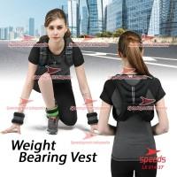 Weighted Vest Rompi Pemberat Beban 10 kg Weight Bearing Vest 014-37