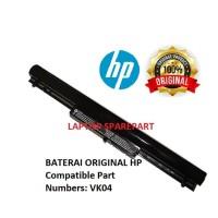 Baterai Laptop Original HP Sleekbook 14 VK04 Pavilion 14 15 HSTNN-YB4D