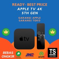 (READY STOCKS) Apple TV 4K 5th Gen 64GB Garansi Apple Resmi 1 Tahun