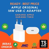 Apple iPhone Fast Charging 18W USB-C Adapter Adaptor iPad Charger