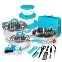 Oxone Panci Set / 23 Pcs Kitchen Set With Bag OX-992